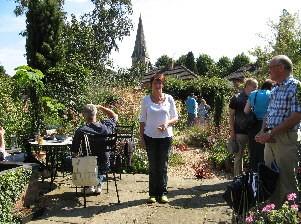 At Anne Godfrey's Garden