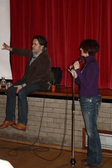 Matthew Wilson speaking, Feb 2011