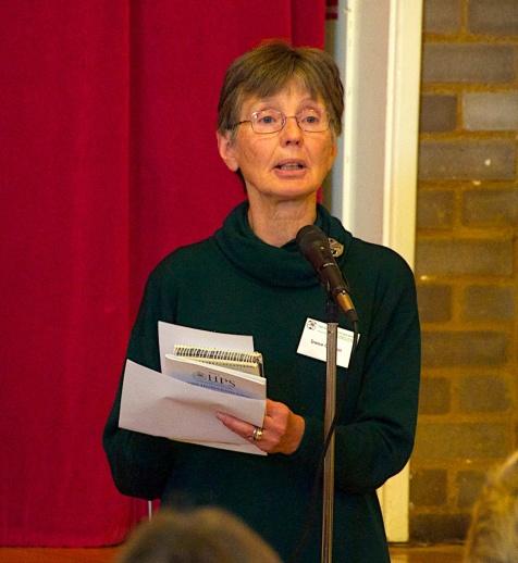 Irene Cowan, Chair elect