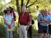 Members on the July coach trip