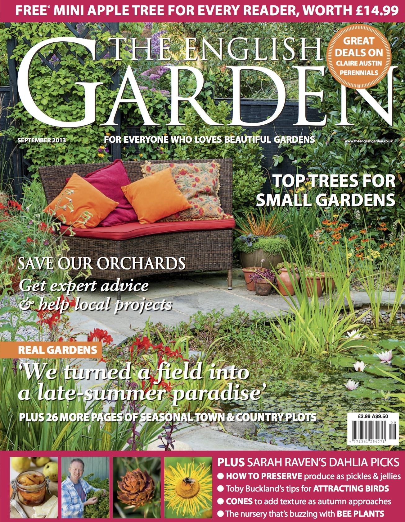 The English Garden Magazine Features a Members Garden Hardy
