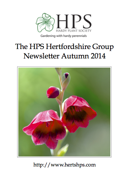 Number 52 - Autumn 2014 Newsletter Front Cover