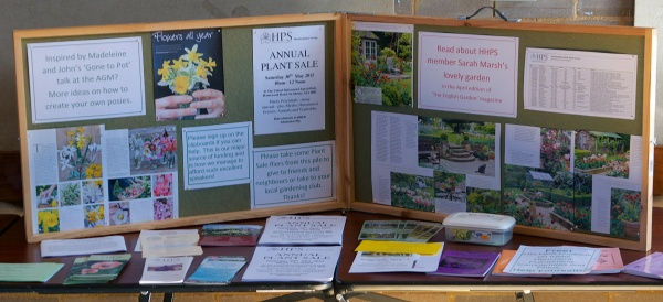 Heather's Group Information Display