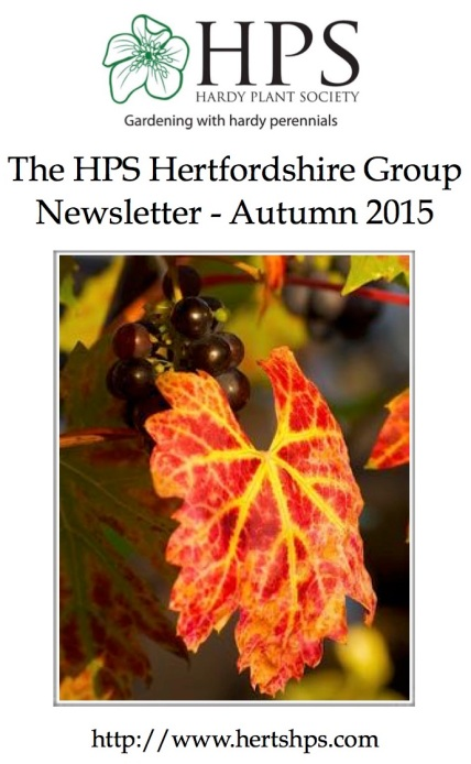 Number 54 - Autumn 2015 Newsletter Front